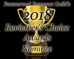 Paranormal Romance Guild 2018 Nominee