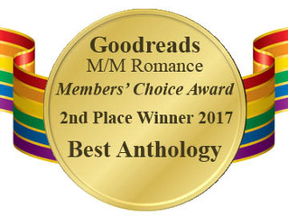 2nd Place Best Anthology