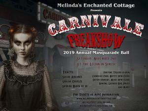 """Masquarade Ball """"Carnivale Freakshow"""""""