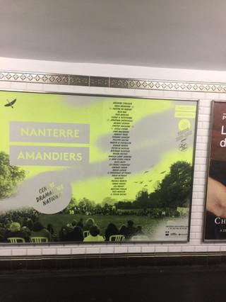 Métro parisien septembre 2017