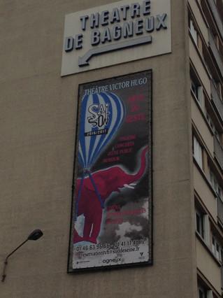 Notre Collectif est en résidence au Théâtre Victor Hugo de Bagneux depuis 2014