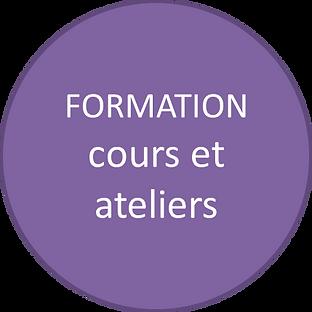 Cours et ateliers d'initiation ou thématiques