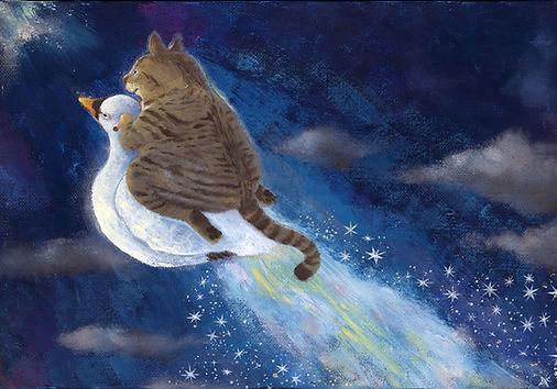 星を作る仔猫.jpg