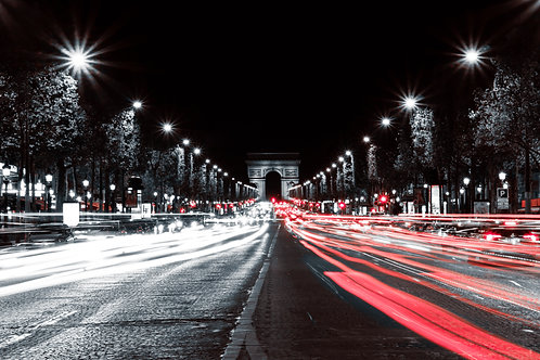 Arch of Triumph (long exposure)