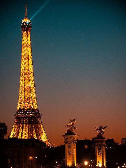 Eiffel Tower + Alexandre bridge
