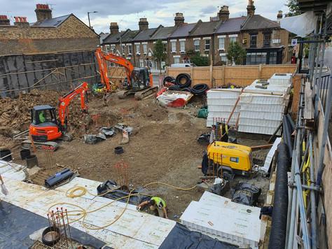 site progress kilburn lane