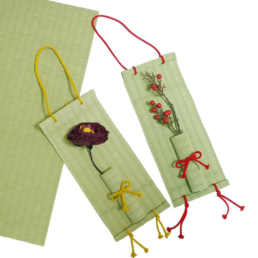 畳楽 ワークショップ ⑨花飾り