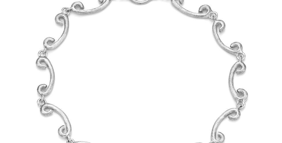 Celeste sterling silver eternity bracelet