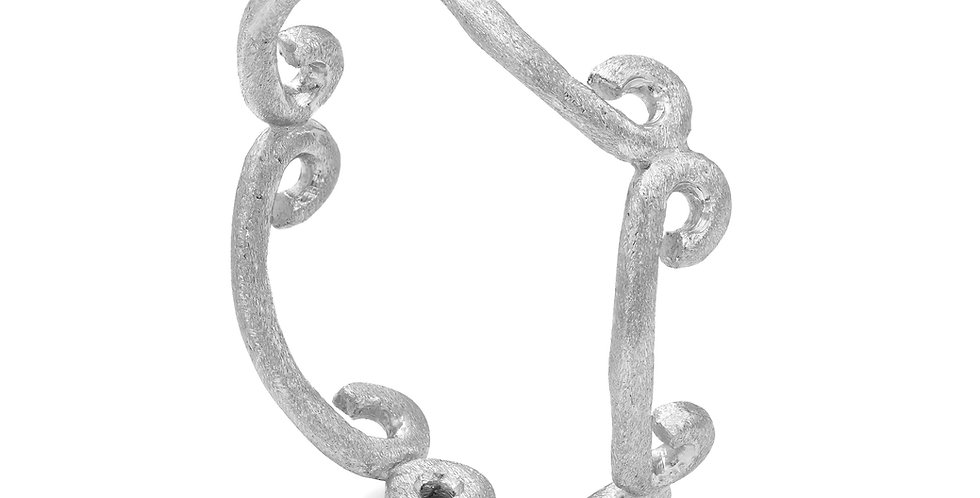 Celeste sterling silver eternity ring