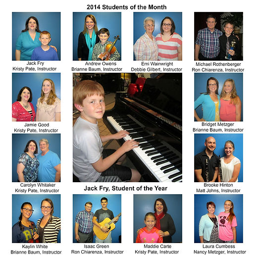2014 Students of the Month 2PicMonkey Im