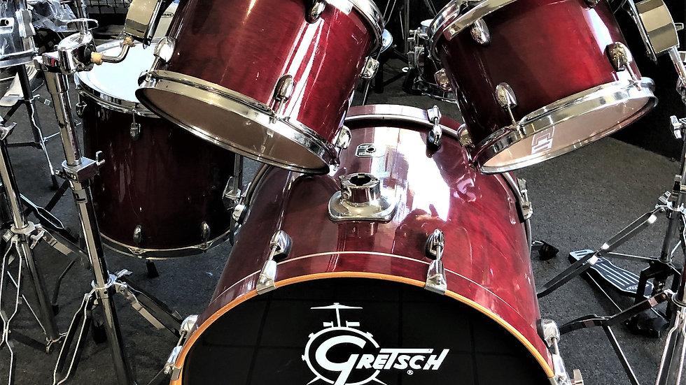 Used Gretsch Custom Birch 5 piece Drum Set