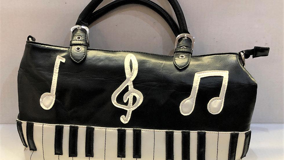Music Staff Keyboard Purse