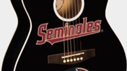 Florida State Seminole Acoustic Guitar