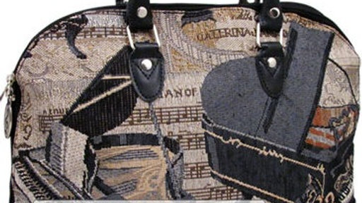 Piano Tapestry Purse