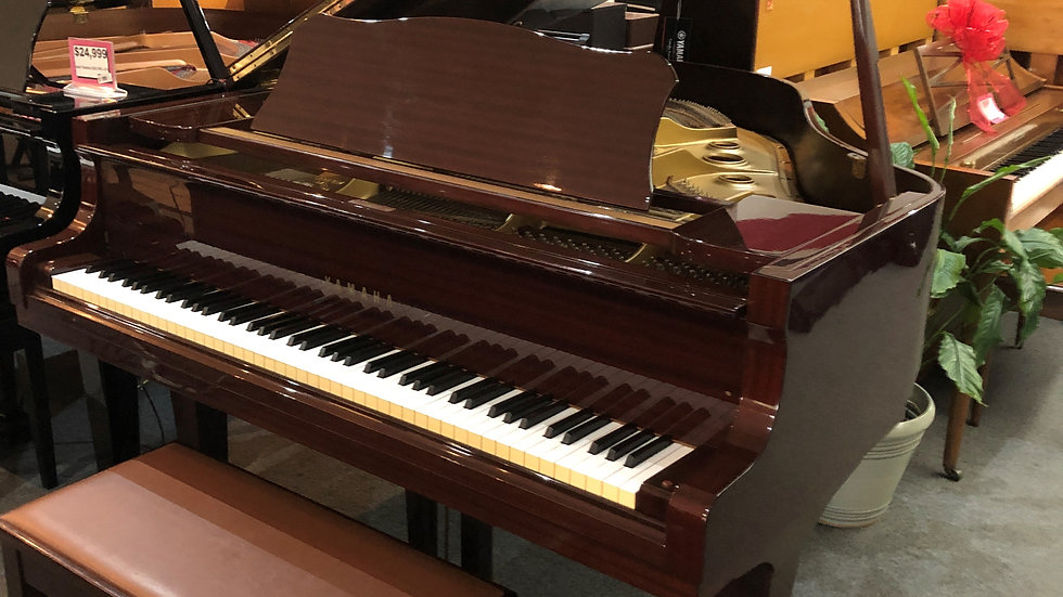 Used Yamaha G1 Polished Mahogany Grand Piano