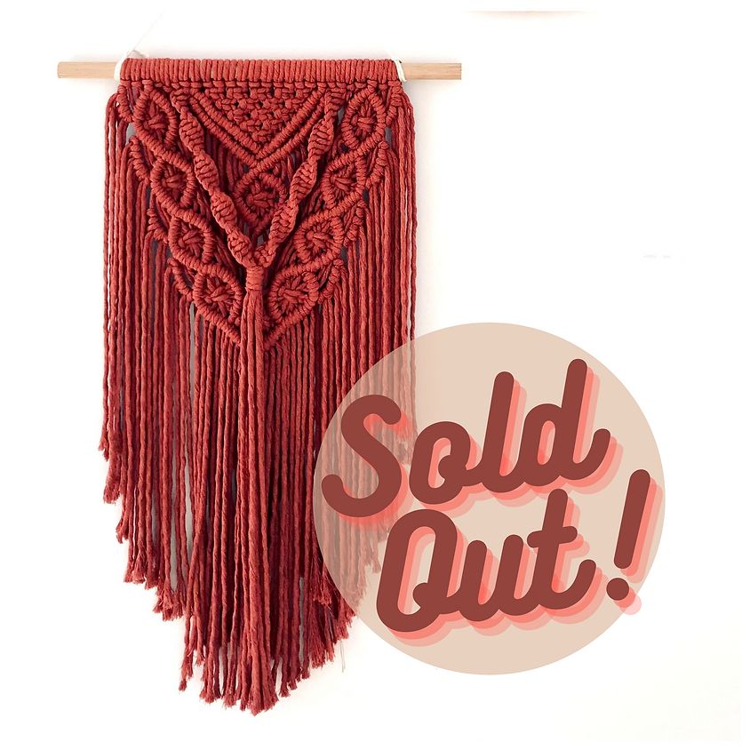 MACRAMÉ WALL HANGINGS with Dianna (SOLD OUT)