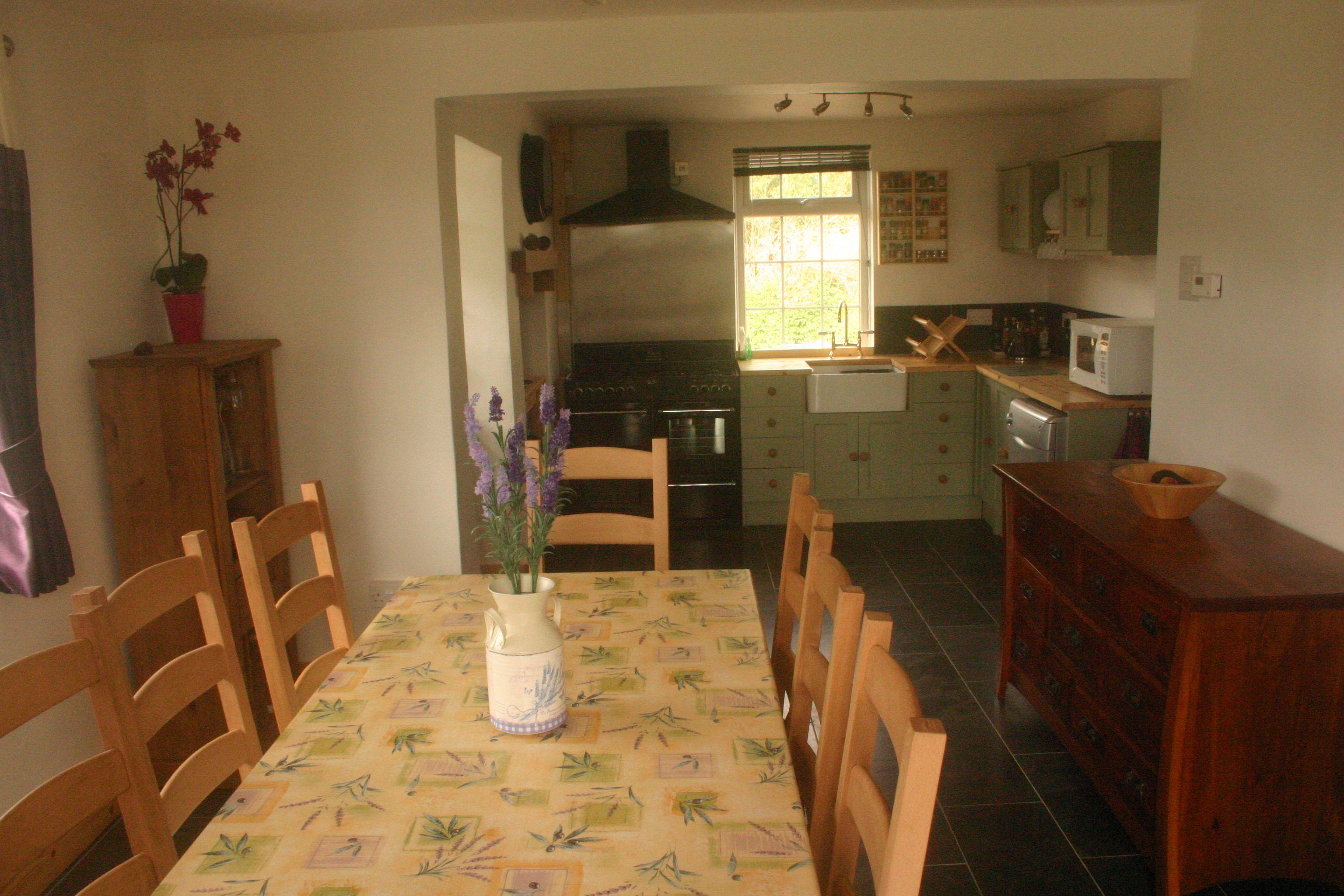 Cottage Dining Kitchen