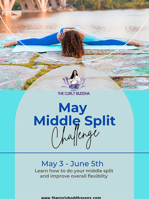 May Middle Split Challenge