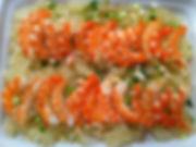 salade de crevettes  pomelo