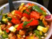 salade printanière  nèfles