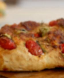 recette italienne Foccacia tomates séchées et romarin