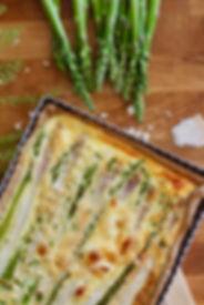 recette tarte aux deux asperges