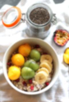 porridge graine de chia