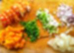 crevettes galanga mangue