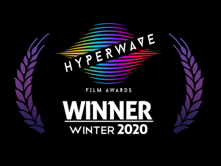 Winner! 'Innocent Boy', Best Thriller at Hyperwave Film Awards Winter 2020 (LA)