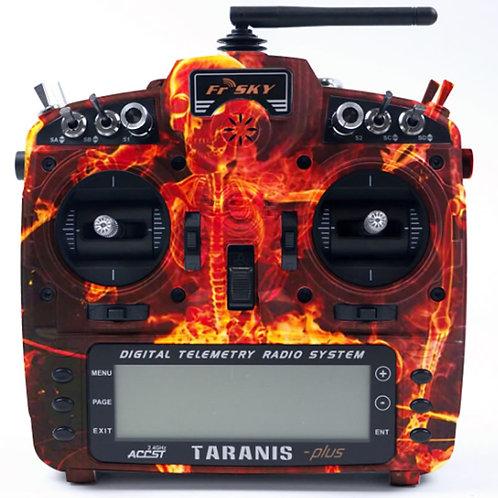 Taranis X9D Plus Blazing Skull