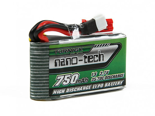 Nano Tech LiPo 1S 750mAh