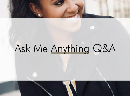Q&A: Ask Me Anything