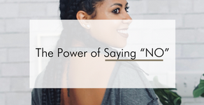 """The Power of Saying """"No"""""""