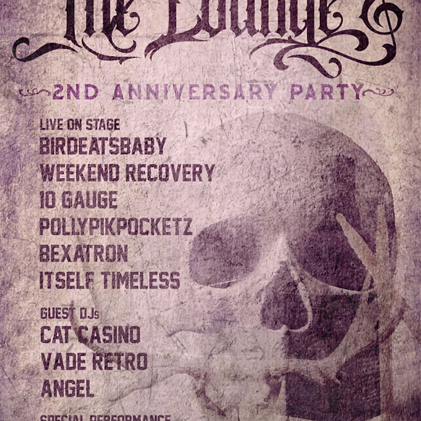 THE LOUNGE: 2 YEARS ANNIVERSARY EXTRAVAGANZA!