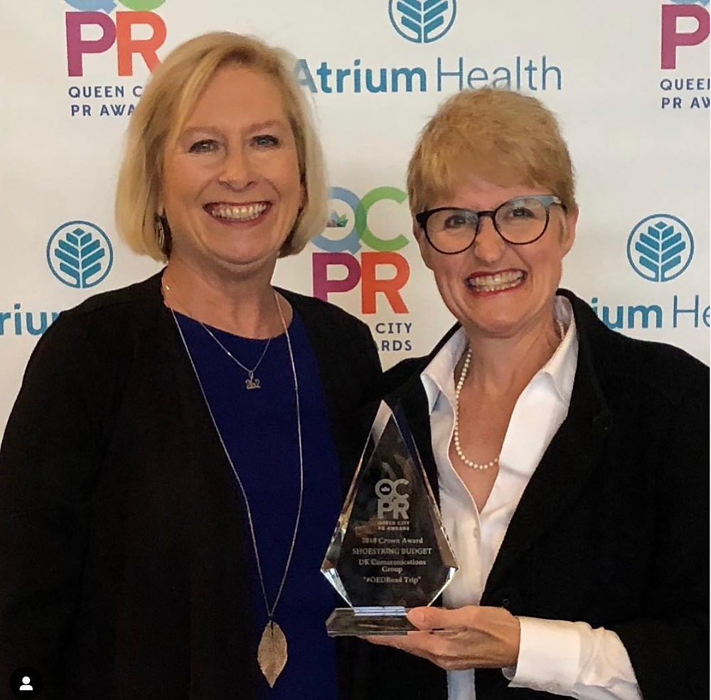 Queen City PR Awards 2018: Jayne Scarborough and Susan Dosier