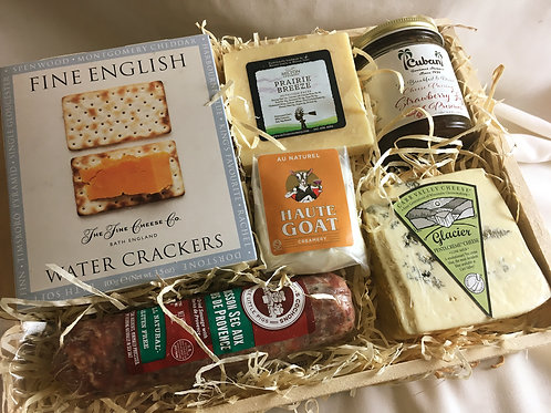 Cheese & Charcuterie Gift