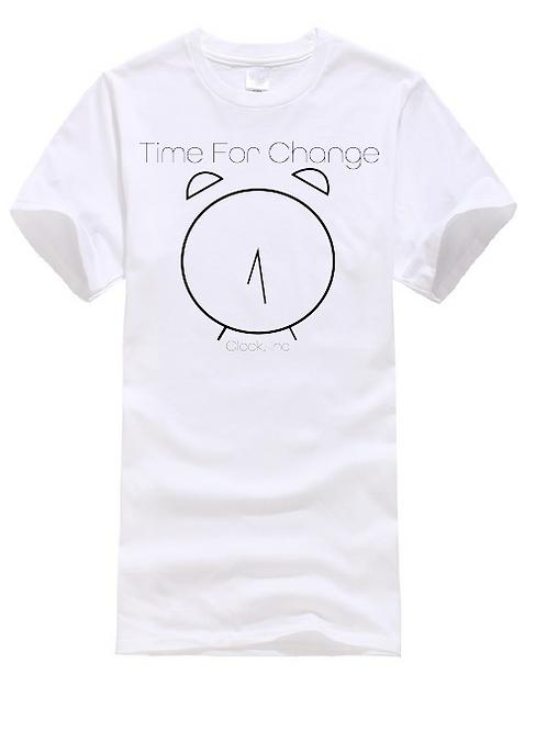 Circle Clock T-Shirt
