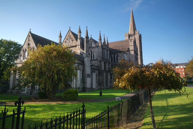 St. Patricks Cathedral, Dublin.