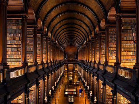 The Long Room, Trinity College, Dublin.