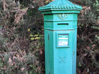 Post boxes through the years - and postmen!