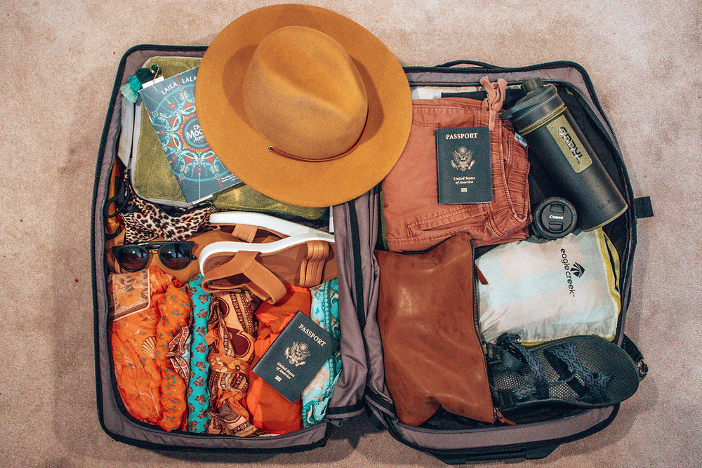 Backpackers packing list