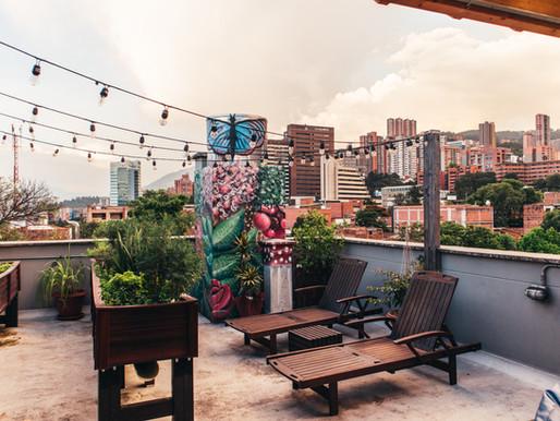 the best hostel in Medellin Colombia: Los Patios Hostel