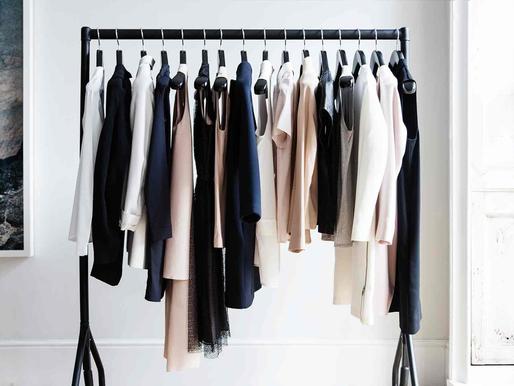 Armário Cápsula: uma forma inovadora de organização para o teu armário