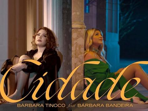 Nem as luzes da cidade ofuscam o brilho de  Bárbara Bandeira e Bárbara Tinoco