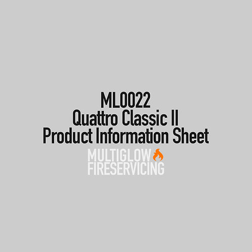 ML0022 - Quattro Classic II - Product Information Sheet