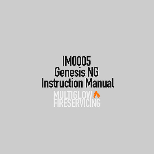 IM0005 - Genesis NG Instruction Manual