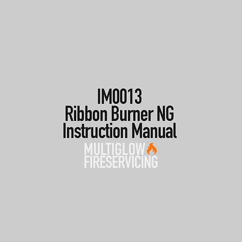 IM0013 - Ribbon Burner NG Instruction Manual