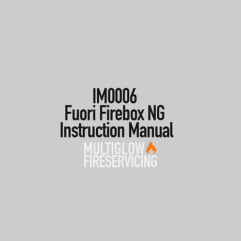 IM0006 - Fuori Firebox NG Instruction Manual