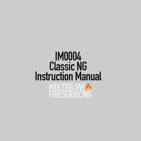 IM0004 - Classic NG Instruction Manual