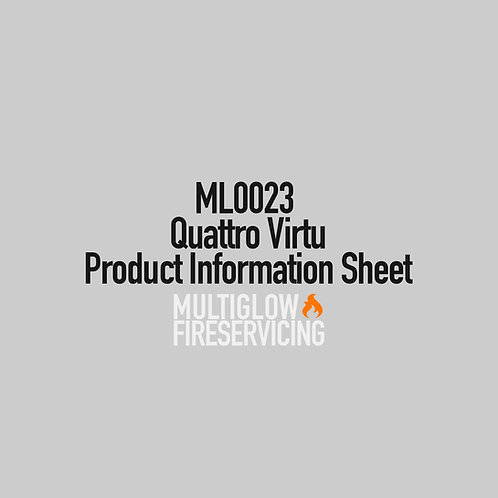 ML0023 - Quattro Virtu - Product Information Sheet